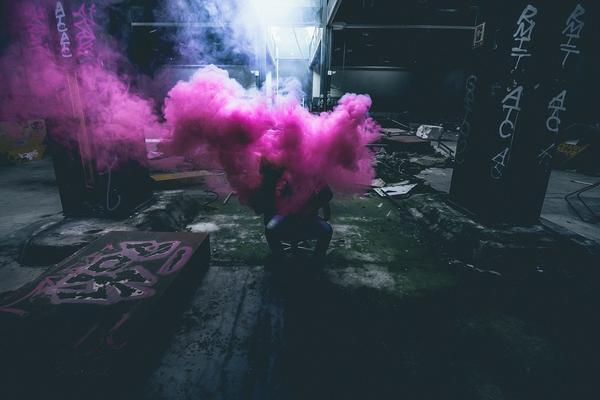 dym pirotechniczny