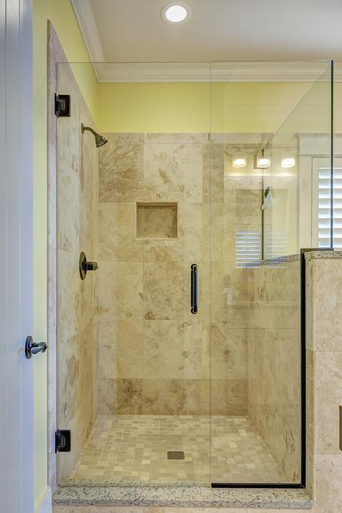 podświetlana deszczownica do kabiny prysznicowej