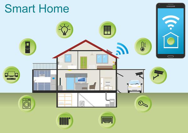 nowoczesny system sterowania domem