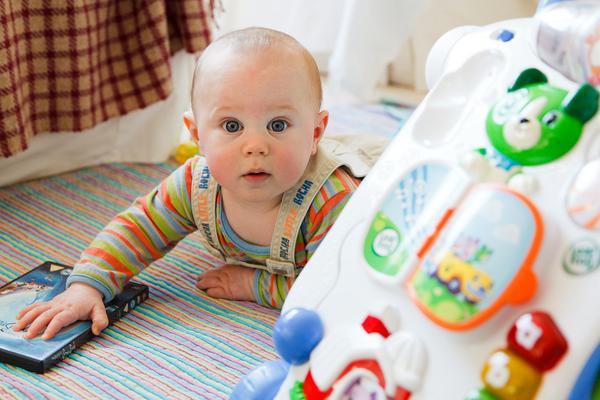 kostki sensoryczne dla niemowląt